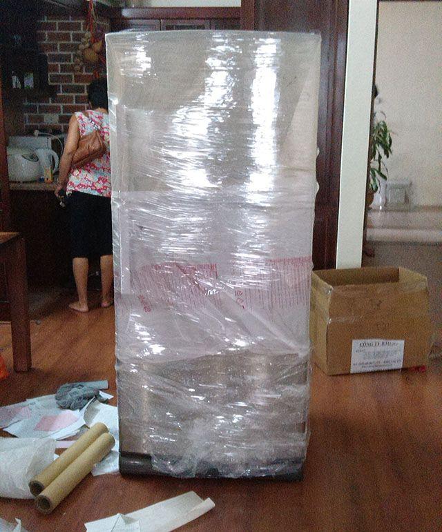 đóng gói tủ lạnh