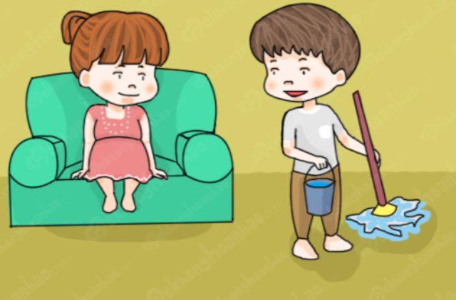 Người mang thai không nên dọn nhà