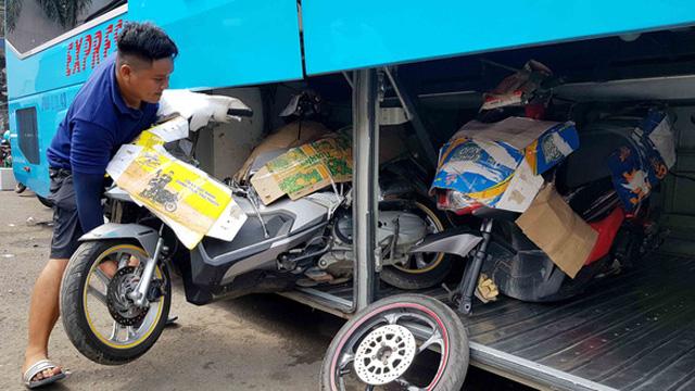 Vận chuyển xe máy Hà Nội về Hải Phòng