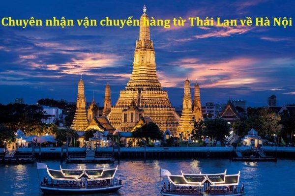 Chuyển hàng từ Thái Lan về Hà Nội