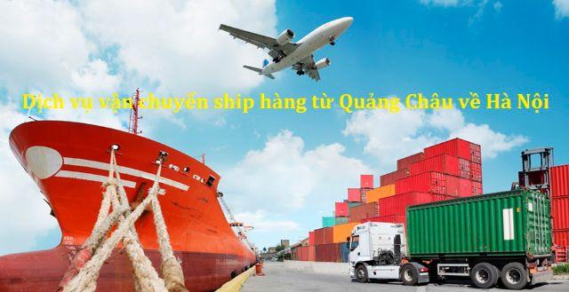 Quy trình vận chuyển hàng từ Quảng Châu