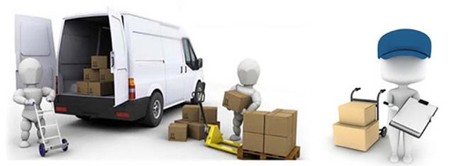Hình thức giao nhận hàng của Vận tải Trung Tín