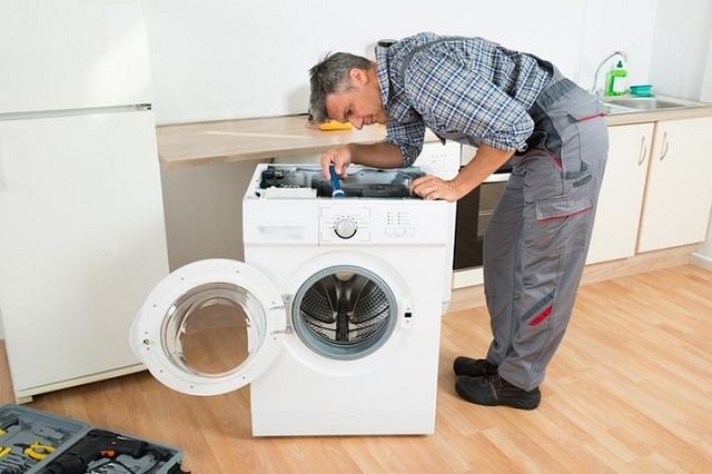 cách tháo máy giặt