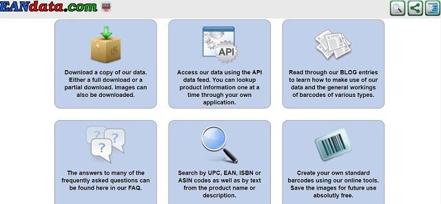 Kiểm tra mã vạch hàng hóa với EANdata