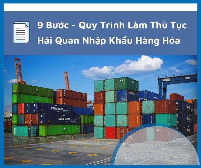 Thủ tục nhập khẩu hàng hóa